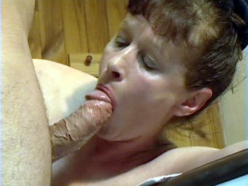 Grandma seduces her masseuse with a hot blowjob and then rides his cock to an orgasm1